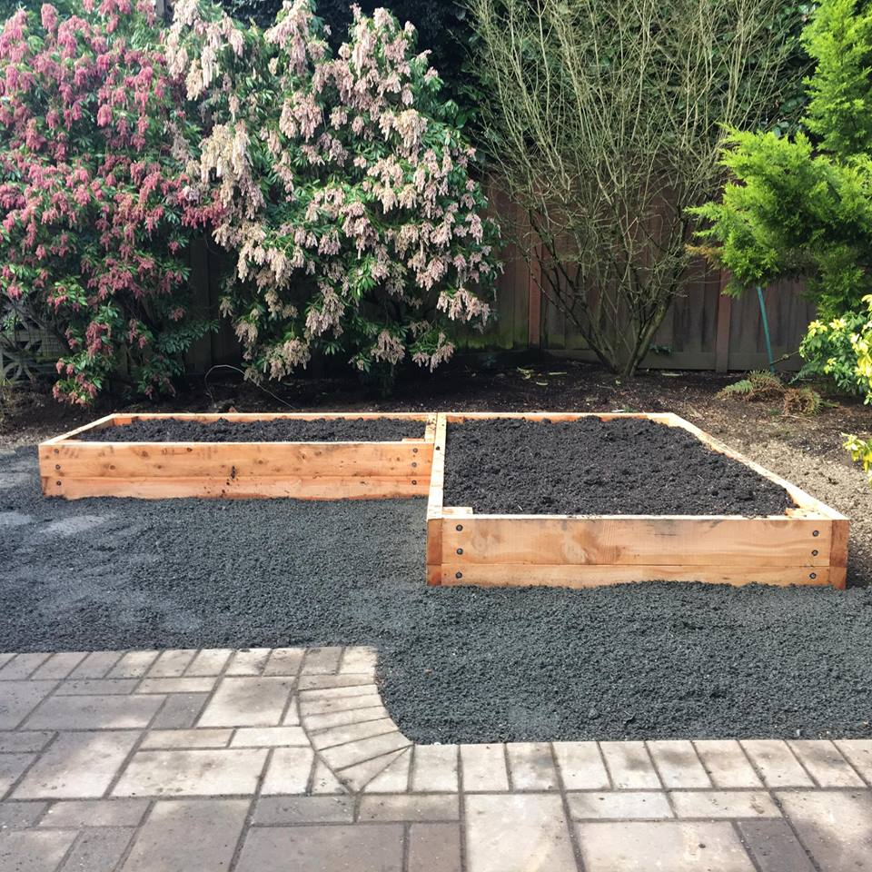 Photo of raised beds by pdx.farm