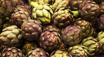 a bunch of lovely artichokes from pdxfarm
